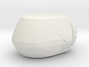 Starfleet Travel Pod  in White Natural Versatile Plastic