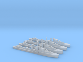 4 pk Intrepid I-class 1:2400 WW2 destroyer in Smoothest Fine Detail Plastic