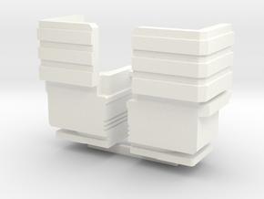 SIEGE: Ultra Magnus Taller in White Processed Versatile Plastic