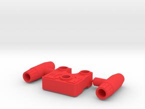 SIEGE: Ironhide Tactic Pack in Red Processed Versatile Plastic