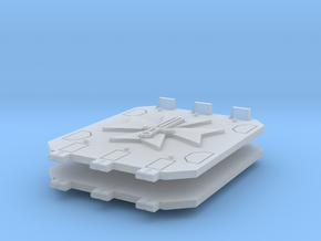 Commission 101 Jericho tank doors #2 in Smooth Fine Detail Plastic