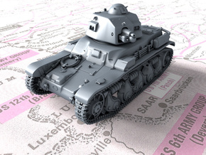 1/32 French Renault R35 (Char léger Modèle 1935 R) in Smooth Fine Detail Plastic