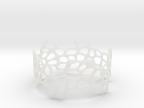 Cells Bracelet (67mm) in Smooth Fine Detail Plastic