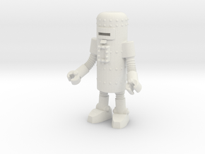 Dr. Satan's Robot, Grappler in White Natural Versatile Plastic: Small