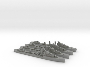 4 pack Intrepid I-class 1:1200 WW2 destroyer in Gray PA12