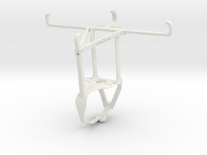 Controller mount for F710 & Samsung Galaxy Xcover  in White Natural Versatile Plastic