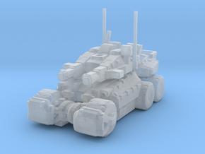 REX345W heavy tank in Smooth Fine Detail Plastic