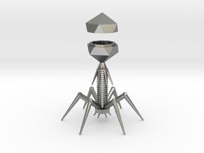Virus Metal in Natural Silver
