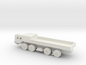 1/100 Scale MAZ-543 Truck in White Natural Versatile Plastic