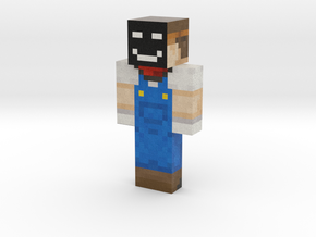 old | Minecraft toy in Natural Full Color Sandstone