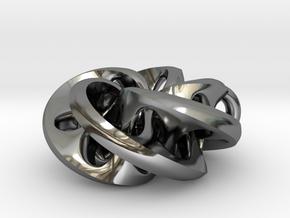 Moebius II, pendant in Premium Silver
