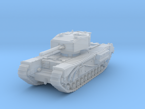Churchill III 6pdr 1/160 in Smooth Fine Detail Plastic