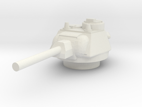 T34.76 1944 Turret 1/76 in White Natural Versatile Plastic