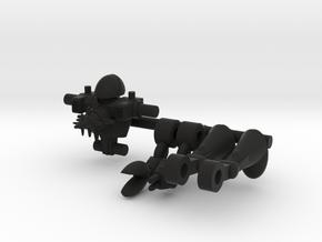 Gouge Microclone Driver in Black Natural Versatile Plastic