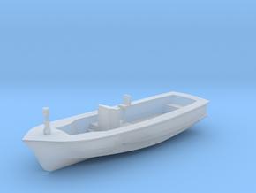 Life Boat Hull 9cm long V11 Hull & Interior combin in Smooth Fine Detail Plastic
