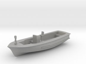 Life Boat Hull 9cm long V11 Hull & Interior combin in Aluminum