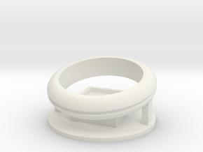 Orbital in White Natural Versatile Plastic