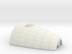 1/350 R class Zeppelin L32 (LZ74) Part 3 in White Natural Versatile Plastic