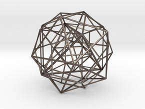 Nested Polyhedra, Large in Stainless Steel