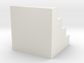 Sum of Squares 1 in White Natural Versatile Plastic