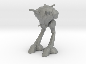 Robotech Zentradi_Battlepod_Regult MICRO in Gray PA12