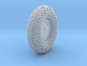 Meshed forward right wheel in Smooth Fine Detail Plastic