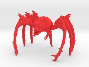 Rat Bat Spider in Red Processed Versatile Plastic