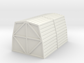 1:72 Cargo Pod x 2 in White Natural Versatile Plastic