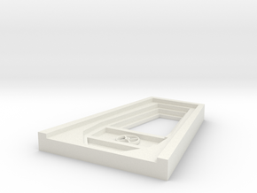 1:72 Viper Bay Hatch in White Natural Versatile Plastic
