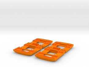 "Set-of-Four Buckle Latches for Ryobi's ""Cordless 1 in Orange Processed Versatile Plastic"