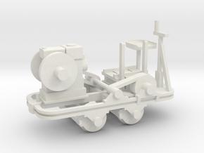 Schienenkuli Nr35 - 1:35 in White Natural Versatile Plastic