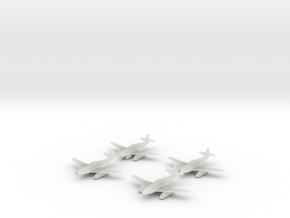 1/600 Me 262 x4 (FUD) in Smooth Fine Detail Plastic
