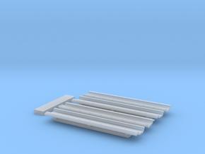 Autorack Bilevel Ladder Pan in Smooth Fine Detail Plastic