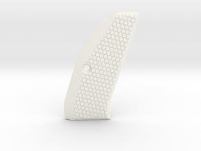 CZ75 SP-01 (right) grip - no logo in White Processed Versatile Plastic