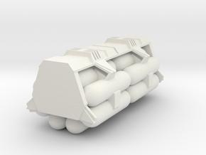 1:72 Work Bee Liquid Carrier Version 1 in White Natural Versatile Plastic