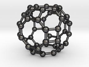 0288 Great Rhombicuboctahedron V&E (a=1cm) #003 in Polished and Bronzed Black Steel