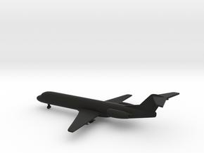 Fokker 100 in Black Natural Versatile Plastic: 1:400