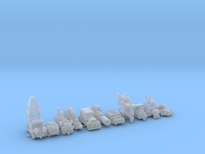 WACKY RACERS 285 scale in Smooth Fine Detail Plastic