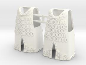 DWARF ARMOR 3  in White Processed Versatile Plastic