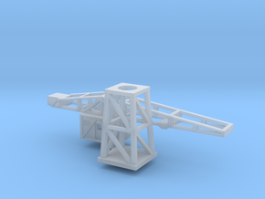 1/700th scale Harbour crane in Smooth Fine Detail Plastic