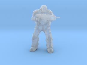 Gears of War UIR Soldier 1/60 miniature games rpg in Smooth Fine Detail Plastic