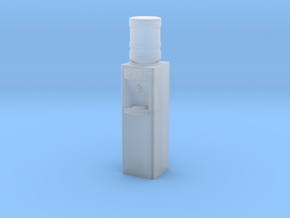 1/64th Water Cooler with 5 gallon jug in Smooth Fine Detail Plastic