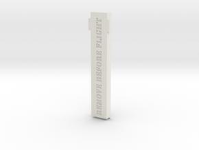 DJI Mavic Pro Bottom Sensor cover in White Natural Versatile Plastic