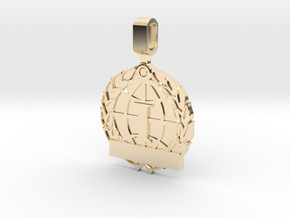 CS:GO Tournament Medallion - 1st Place in 14K Yellow Gold