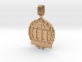 CS:GO Tournament Medallion - 3rd Place in Polished Bronze