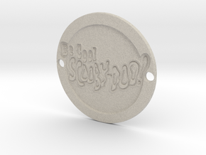 Be Cool Scooby-Doo Sideplate 2 in Natural Sandstone