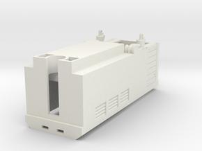 HOe-loco01b - Hoe transkit for N Fleischmann 7305 in White Natural Versatile Plastic