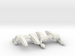 3788 Scale Lyran Cheetah Frigates (2) CVN in White Natural Versatile Plastic