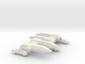 3125 Scale LDR Frigates (2) CVN in White Natural Versatile Plastic