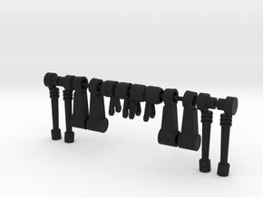Acroyear II Legs 2-Pack in Black Natural Versatile Plastic
